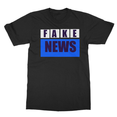 FAKE NEWS  Adult T-Shirt