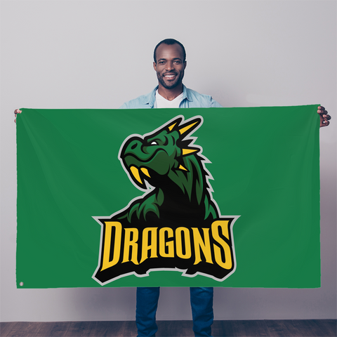 Westbury dragon   Sublimation Flag
