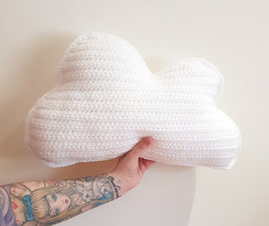 CROCHET PATTERN - Cloud Pillow