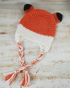 CROCHET PATTERN - Fox Beanie