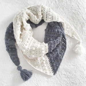 PATTERN ONLY - Harlequin Shawl