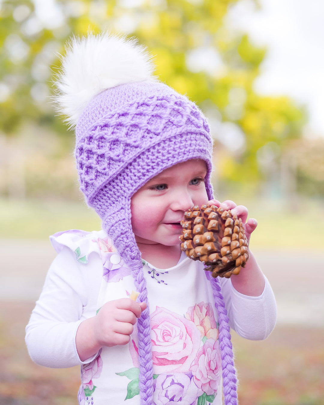 CROCHET PATTERN - Lattice Beanie