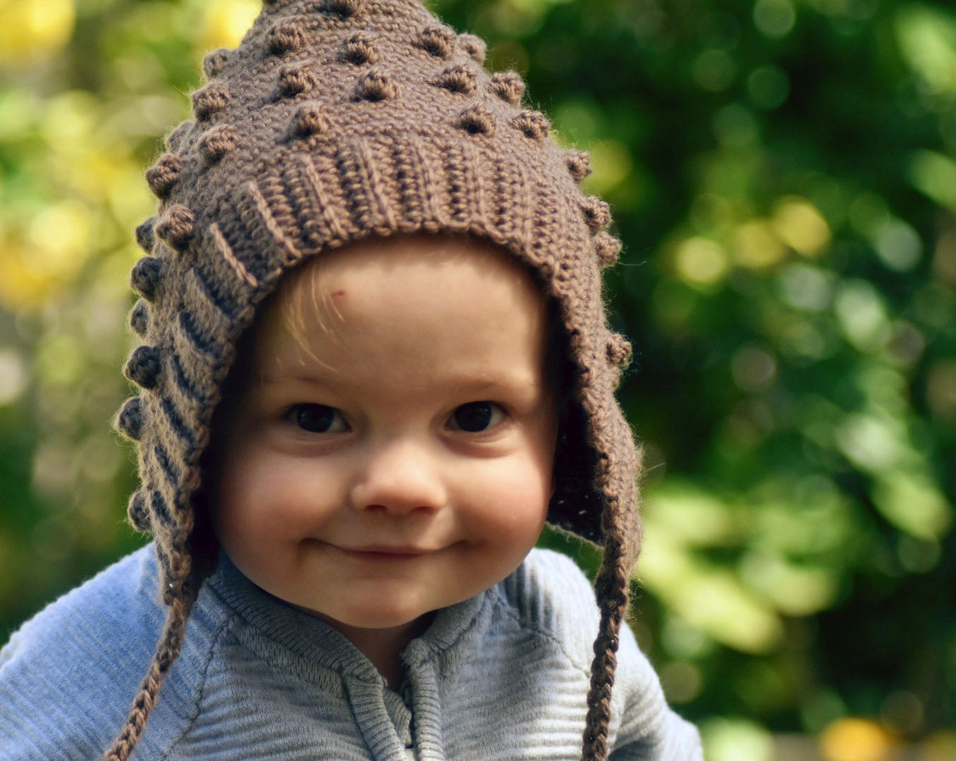CROCHET PATTERN - Bobble Pixie Bonnet