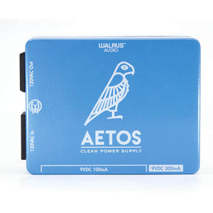Walrus Audio Aetos Clean Power Supply Blue & White Limited Edition