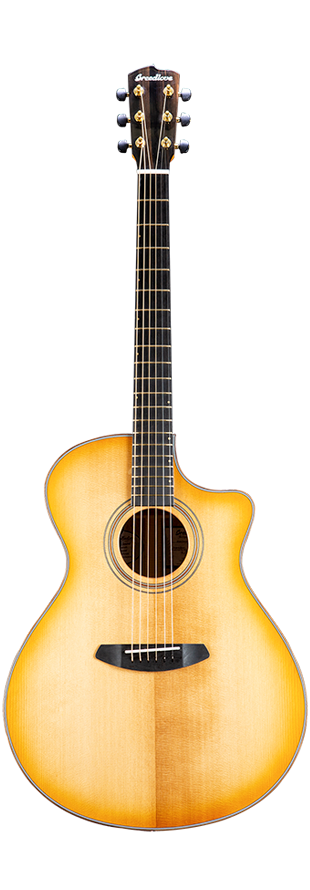 Breedlove Artista Concerto Natural Shadow CE Torrefied European-Myrtlewood