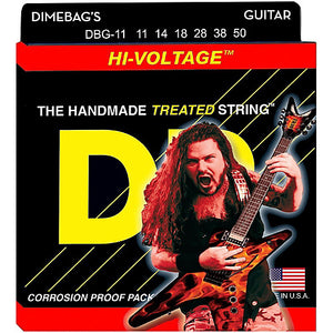 DR DBG-11 Dimebag Darrell Signature Series Electric Guitar Strings 11-50