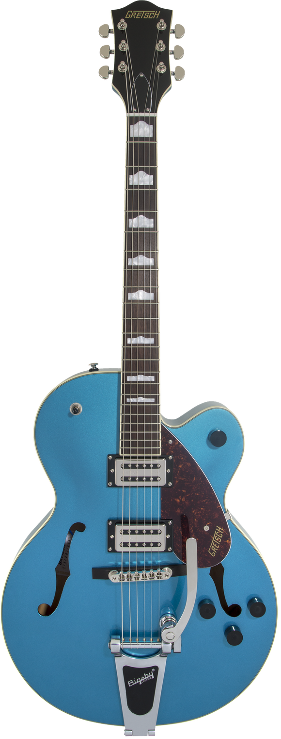 Gretsch G2420T Streamliner Hollow Body with Bigsby, Broad'Tron Pickups Riviera Blue