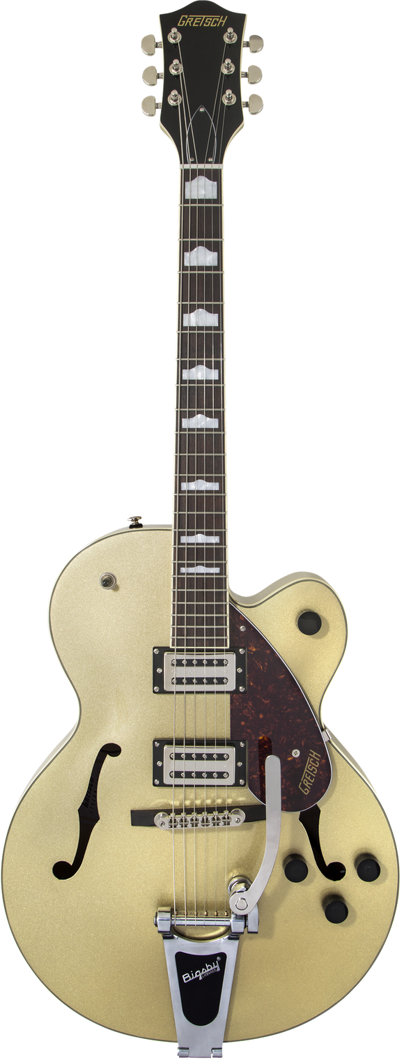 Gretsch G2420T Streamliner Hollow Body with Bigsby, Broad'Tron Pickups Golddust