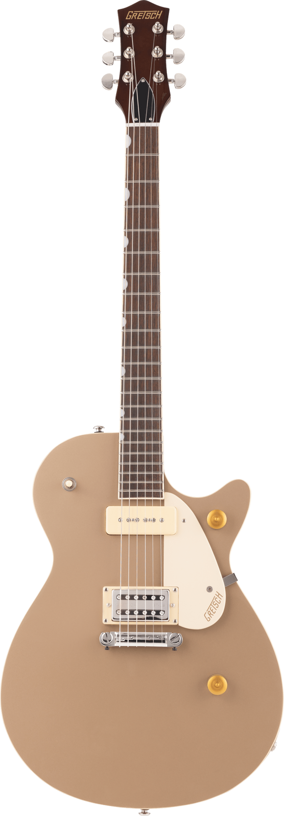 Gretsch G2215-P90 Streamliner Junior Jet Club Sahara Metallic