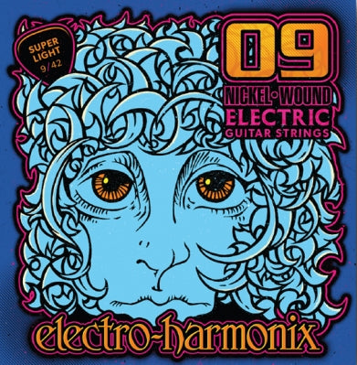 Electro-Harmonix Nickel Wound Electric Guitar Strings (9s)