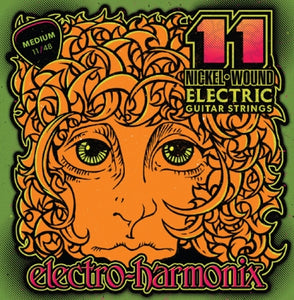 Electro-Harmonix Nickel Wound Electric Guitar Strings (11s)