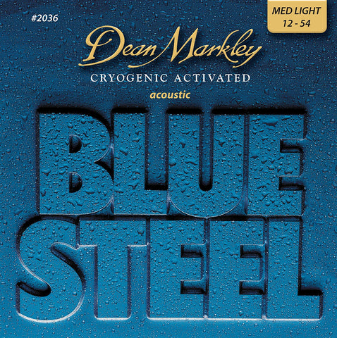 Dean Markley Blue Steel Acoustic Strings Set 12-54 2036