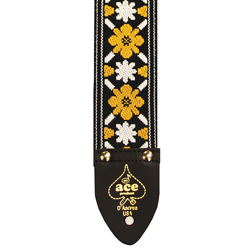 Ace Vintage Reissue Guitar Strap Rooftop