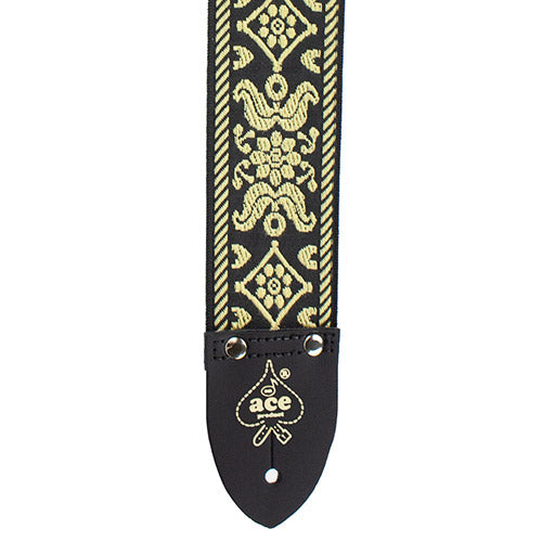 Ace Vintage Reissue Guitar Strap Old Gold