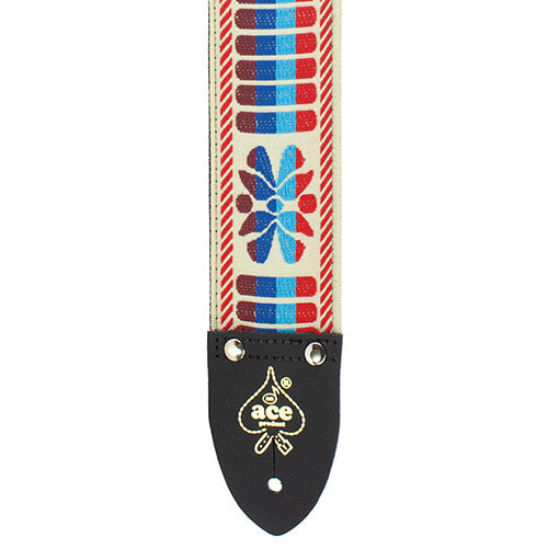 Ace Vintage Reissue Guitar Strap Big Sky