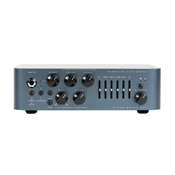 Darkglass Electronics Alpha Omega 500, 500 Watt Bass Amp Head