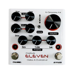 6 Degrees FX Amplitude Eleven Class A Overdrive