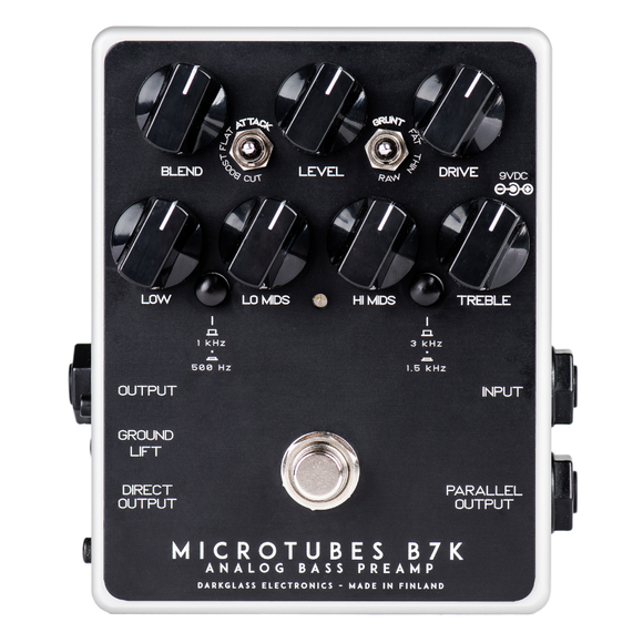 Darkglass Electronics Microtubes B7K Bass Preamp V2