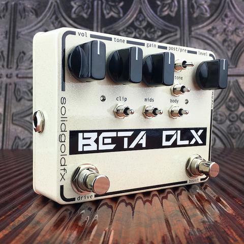 SolidGoldFX Beta DLX Bass Overdrive