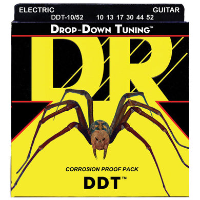 DR DDT-10/52 Drop Down Tuning Electric Strings Big Heavy 10-52.