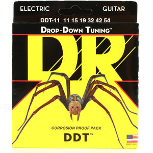DR DDT-11 Drop Down Tuning Electric Guitar Extra-Heavy 11-54