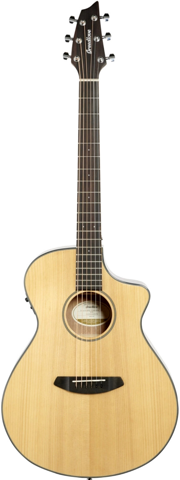 Breedlove Discovery Concert CE Sitka Spruce - Mahagony