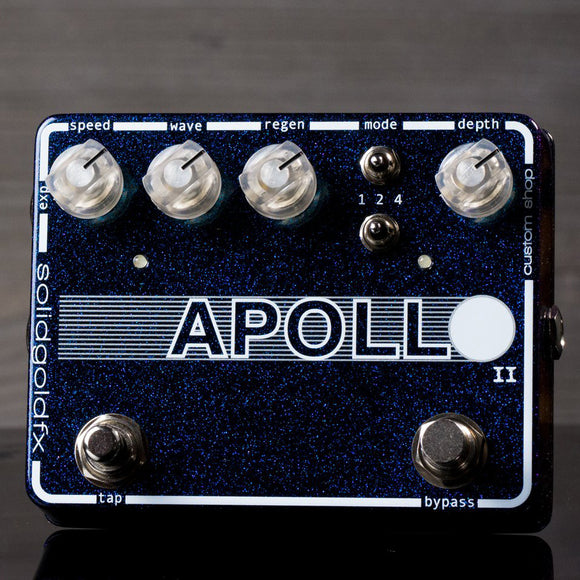 SolidGoldFX Apollo II Phaser Custom Shop Midnight Sapphire