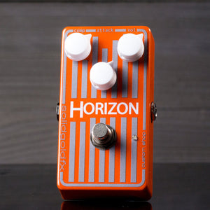 SolidGoldFX Horizon Optical Compressor Custom Shop Electric Orange