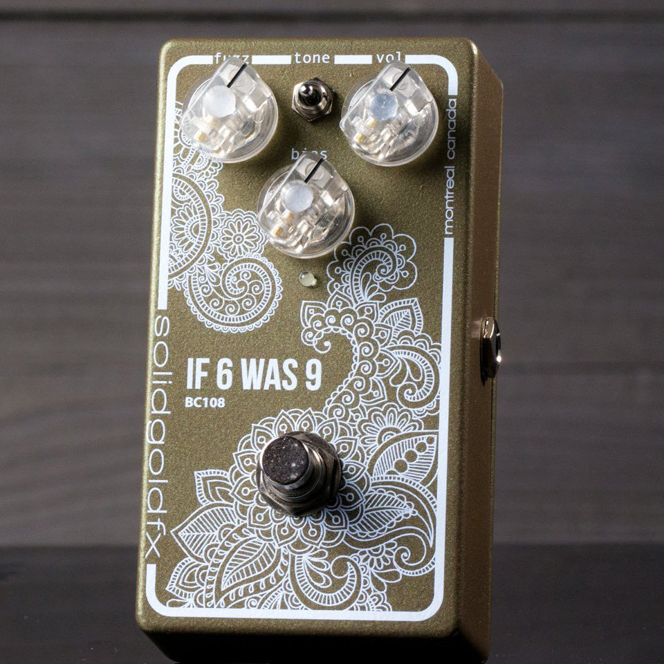 SolidGoldFXIf 6 Was 9 - BC108 Fuzz