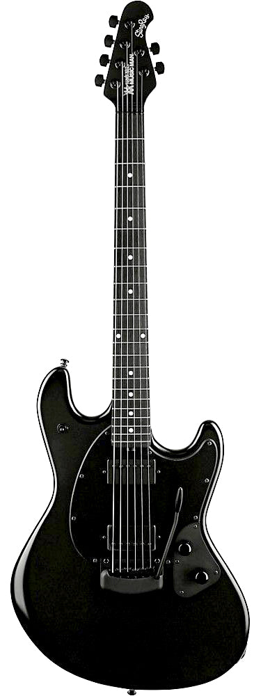 Ernie Ball Music Man StingRay RS Stealth Black HH Ebony