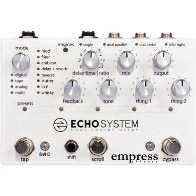 Empress Effects - Echosystem Delay
