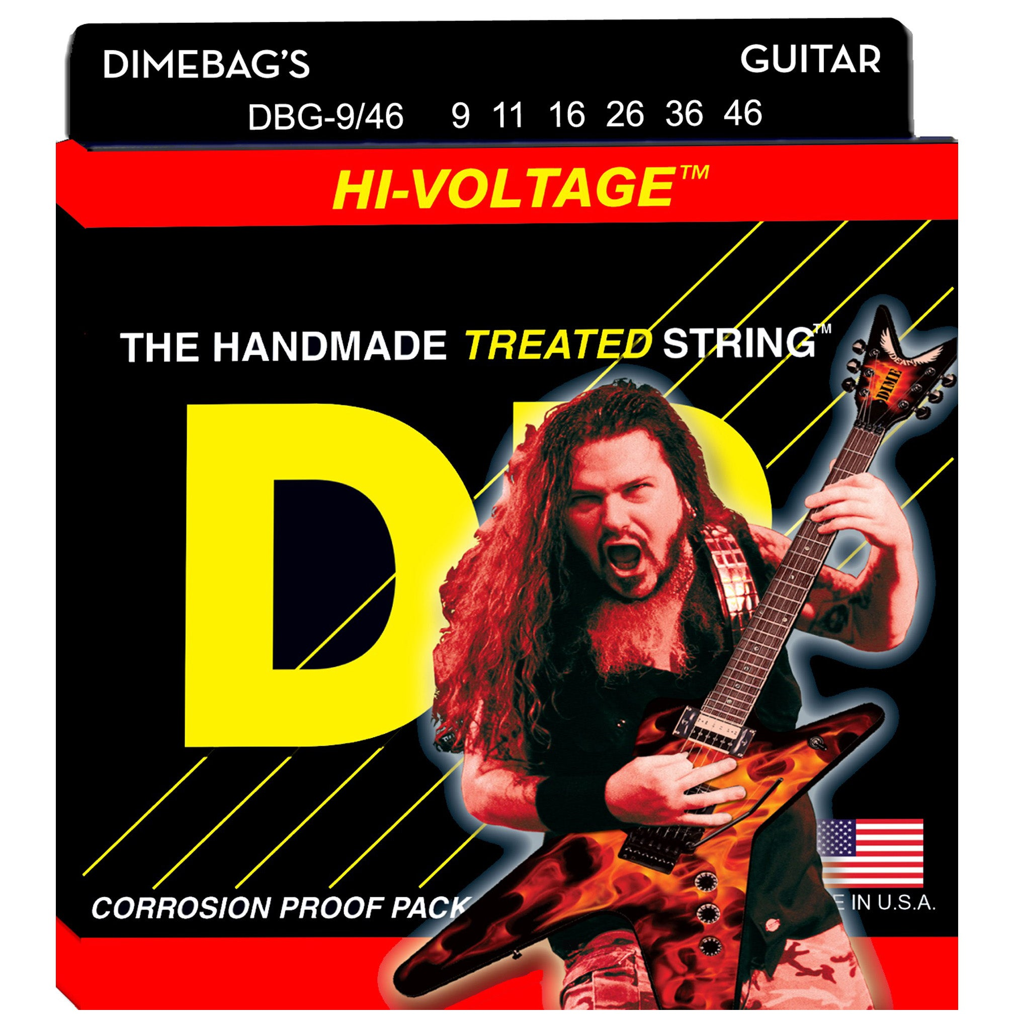 DR DBG-9/46 Dimebag Darrell Signature Series Electric Guitar Strings 9-46