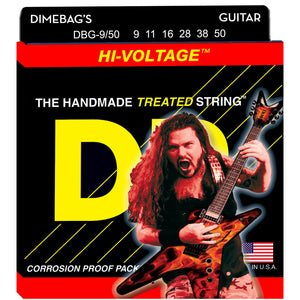 DR DBG-9/50 Dimebag Darrell Signature Series Electric Guitar Strings 9-50