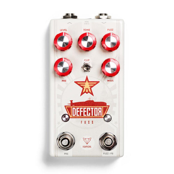 Foxpedal Defector Fuzz