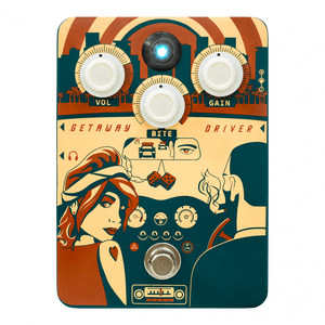 Orange Pedals Getaway Driver Class A Overdrive and Cab Simulator