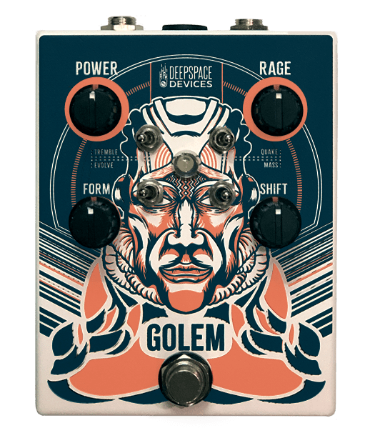 Deep Space Devices Golem Overdrive Distortion Pedal