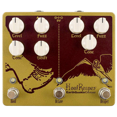 EarthQuaker Devices Hoof Reaper Double Fuzz with Octave Up Fuzz V2