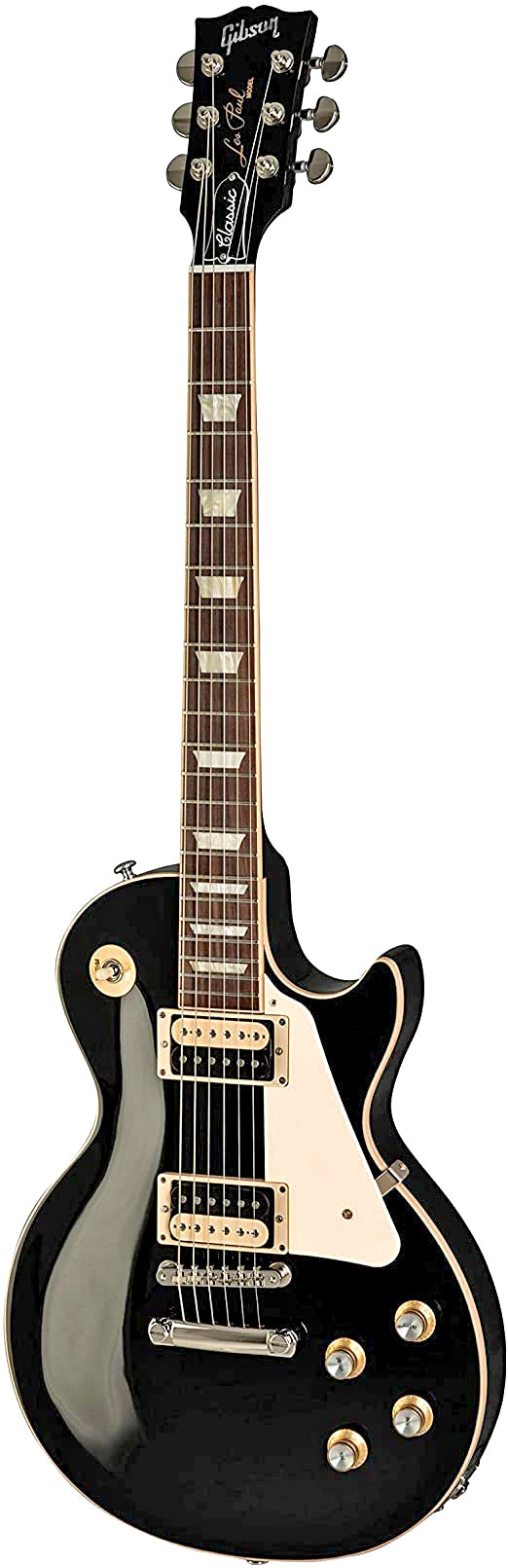 Gibson Les Paul Classic Electric Guitar Ebony