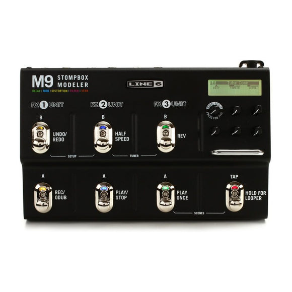 Line 6 M9 Stomp Box Modeler