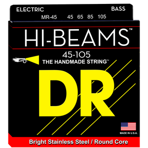 DR Strings MR-45 Hi-Beam Bass Strings - Medium, 45-105