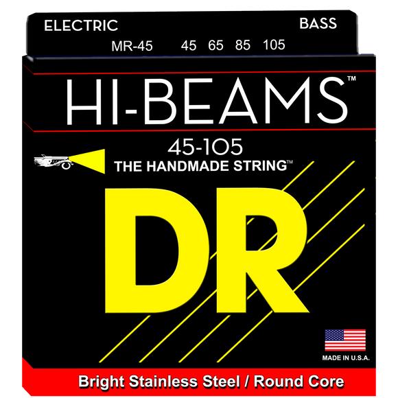 DR MR-45 Hi-Beam Bass Strings - Medium, 45-105