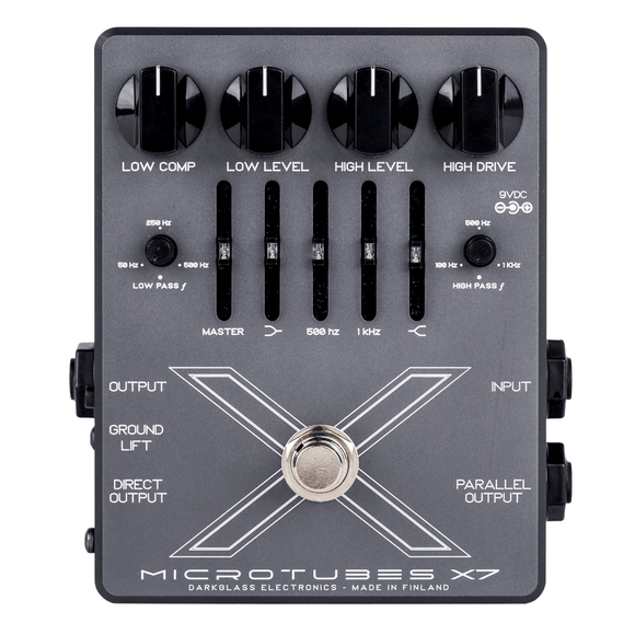 Darkglass Electronics Microtubes X7 Distortion with Graphic EQ