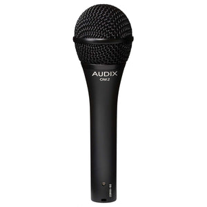 Audix OM2 Handheld Dynamic Hypercardioid Mic, Vocal Microphone