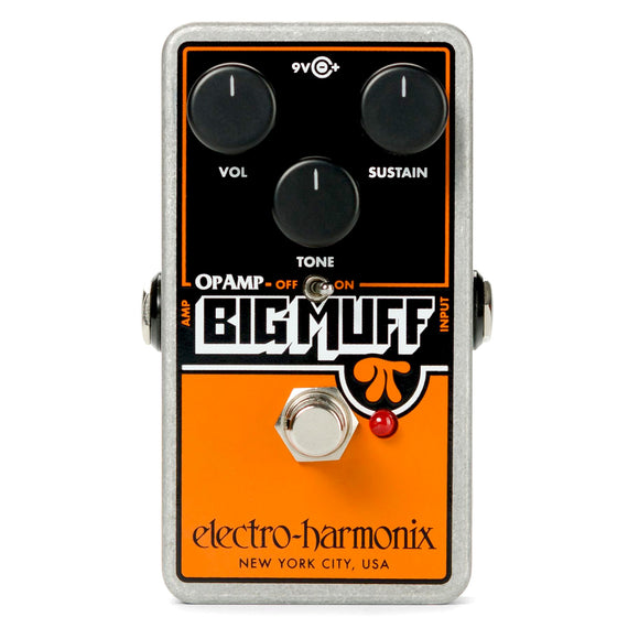 electro-harmonix Op-Amp Big Muff Pi Distortion/Sustain Pedal
