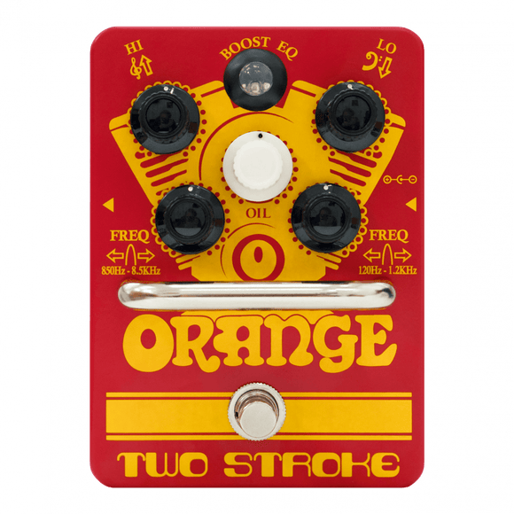 Orange Two Stroke Boost EQ