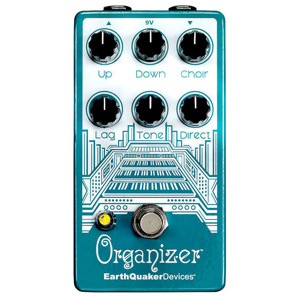 EarthQuaker Devices Organizer Polyphonic Organ Emulator V2