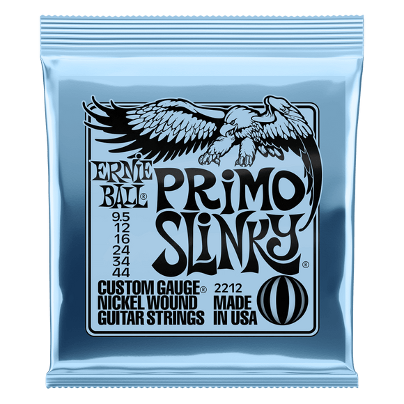 Ernie Ball Nickel Wound Primo Slinky 9.5-44 Electric Strings