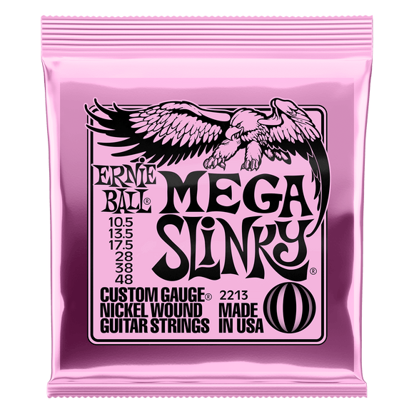 Ernie Ball Nickel Wound Mega Slinky 10.5 -48 Electric Strings