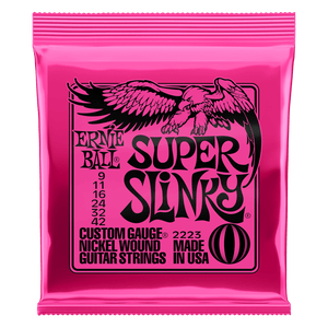 Ernie Ball Nickel Wound Super Slinky 9-42 Electric Strings