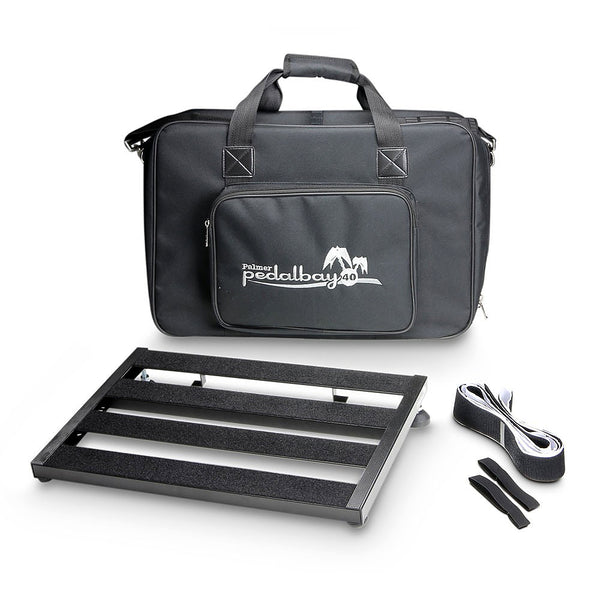 Pedalbay 40 Lightweight variable Pedalboard with Protective Softcase 45cm